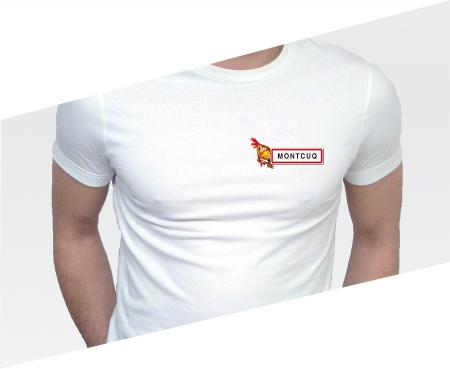 ---></a>   T-shirt Poulet Montcuq